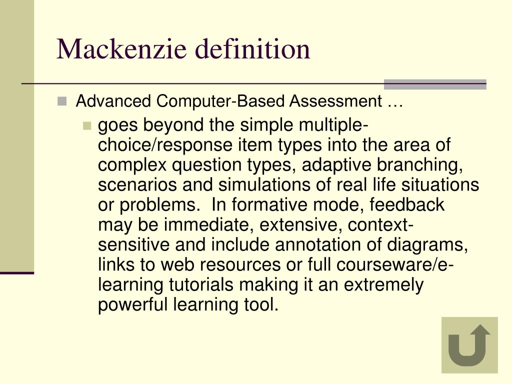 Mackenzie definition