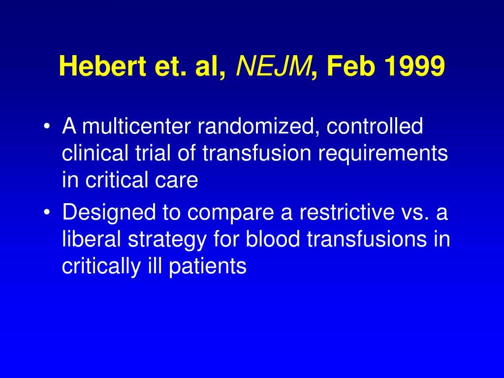 Hebert et. al,