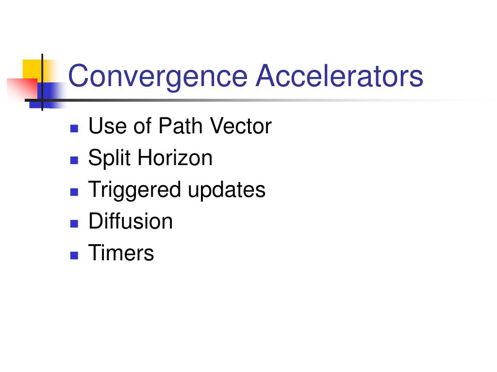Convergence Accelerators