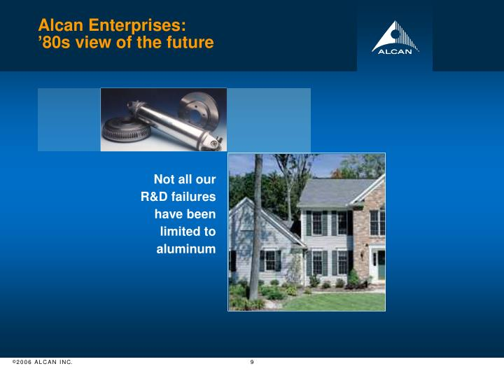 Alcan Enterprises: