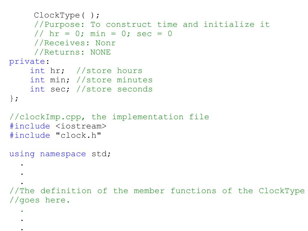 ClockType( );