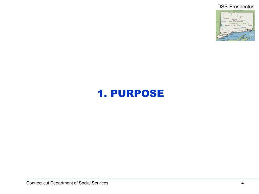 1. PURPOSE