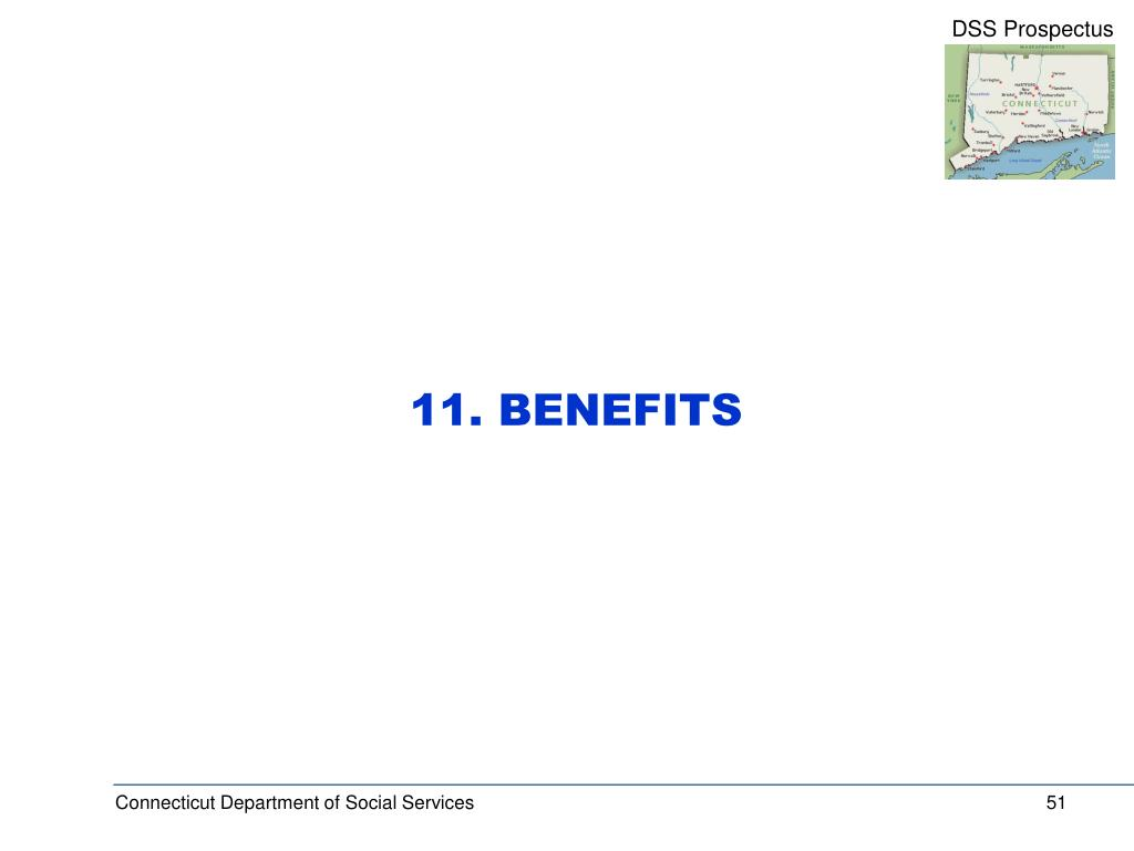 11. BENEFITS