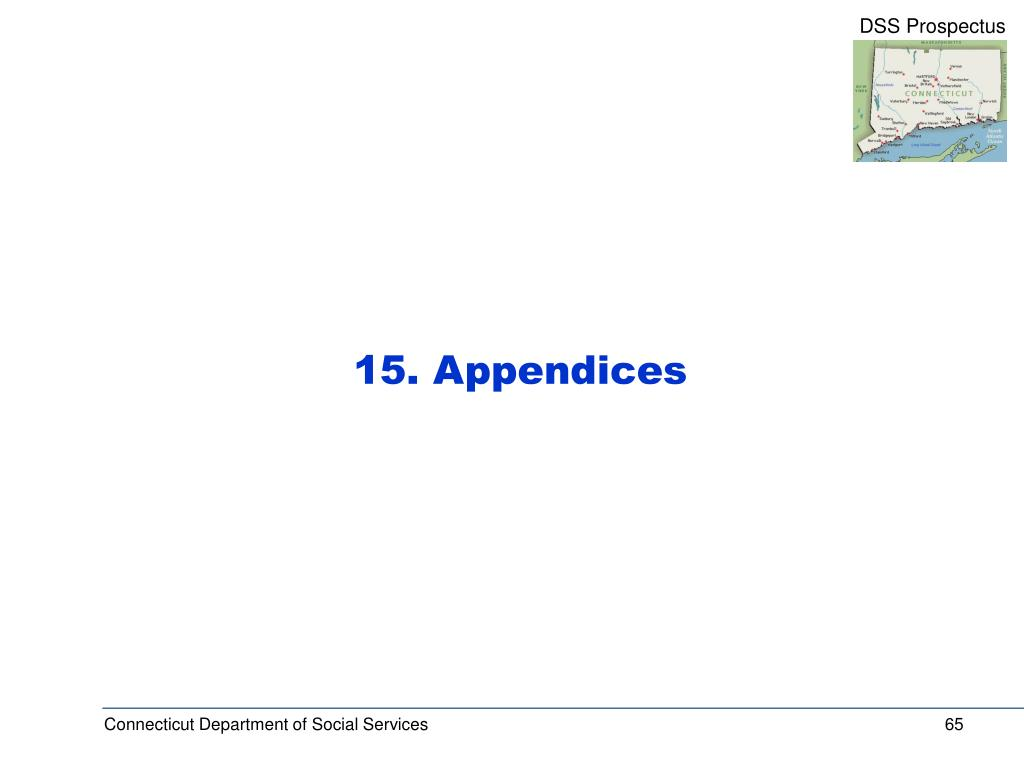 15. Appendices