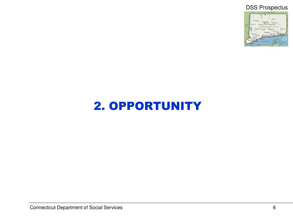 2. OPPORTUNITY