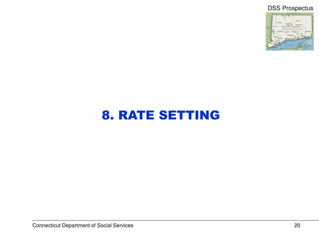 8. RATE SETTING