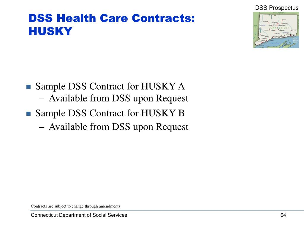 DSS Health Care Contracts: