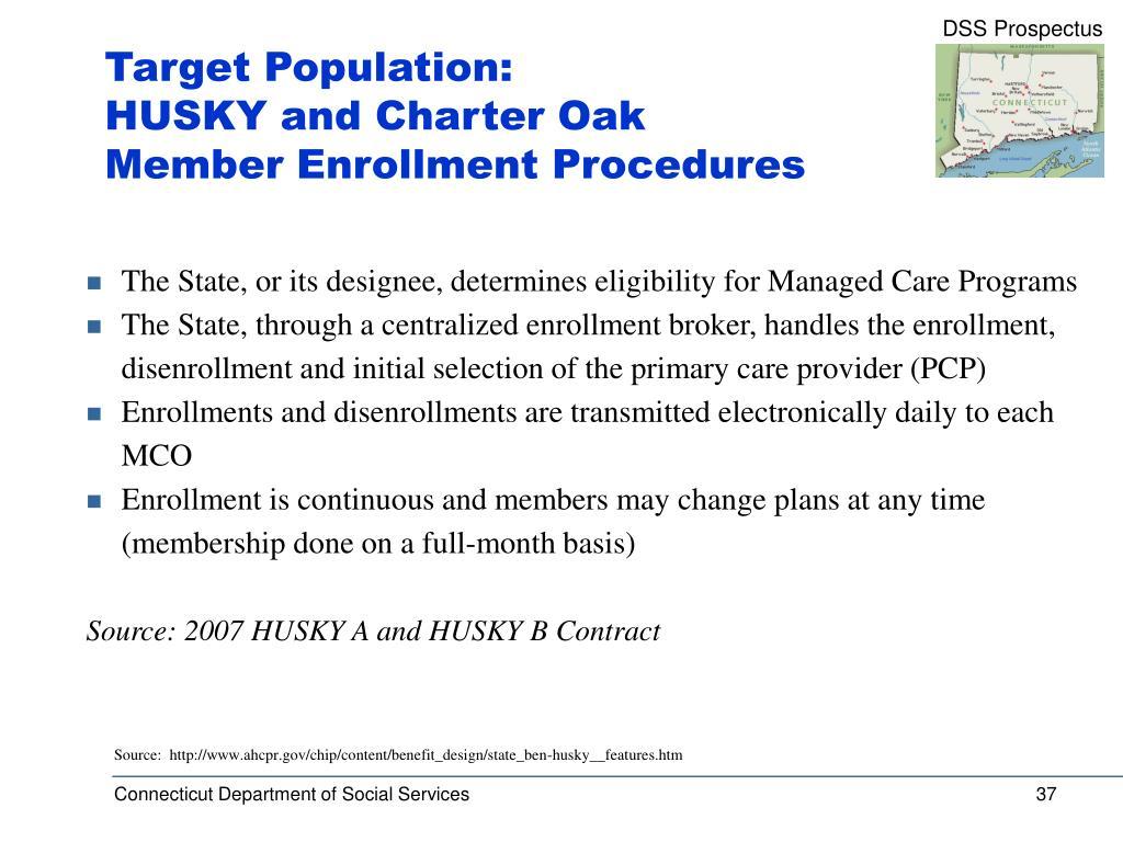 Target Population: