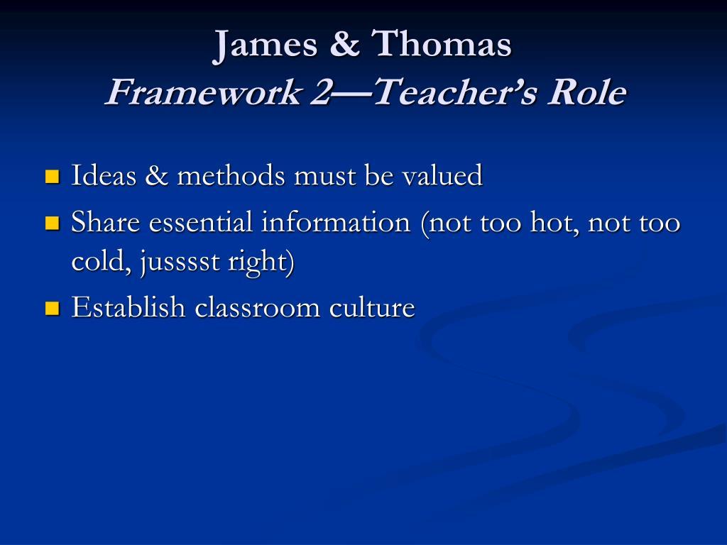 James & Thomas