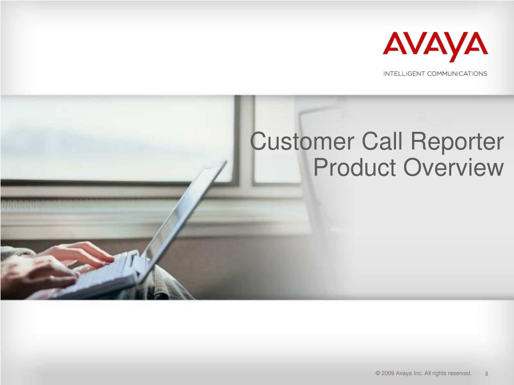 Customer Call Reporter