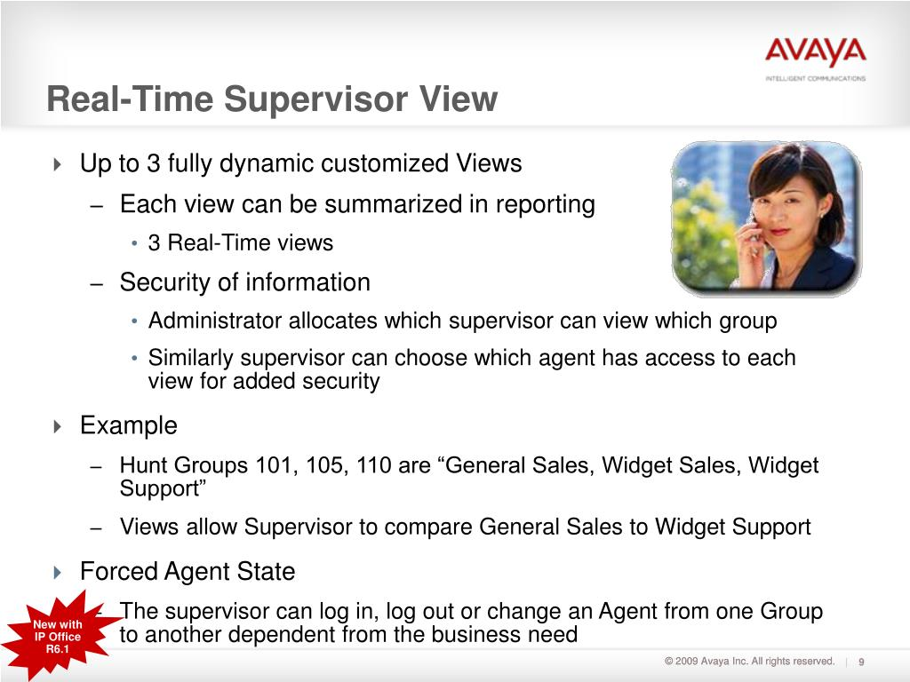 Real-Time Supervisor View