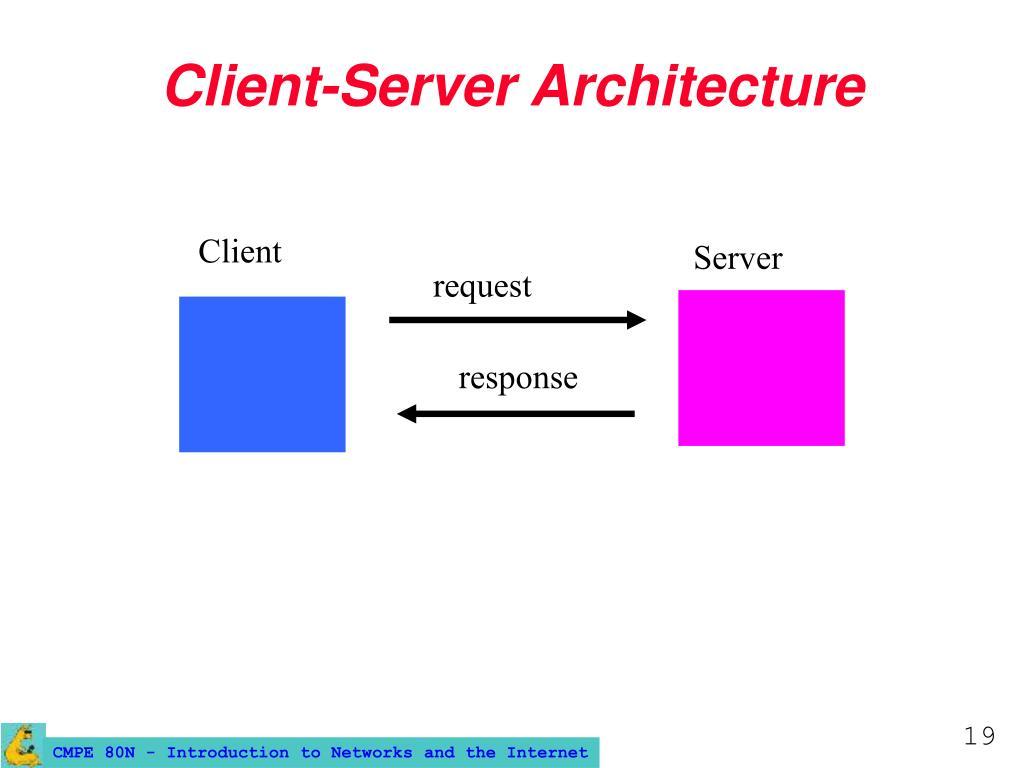 Client-Server Architecture
