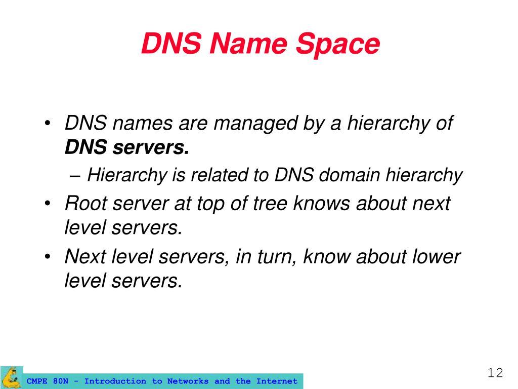 DNS Name Space
