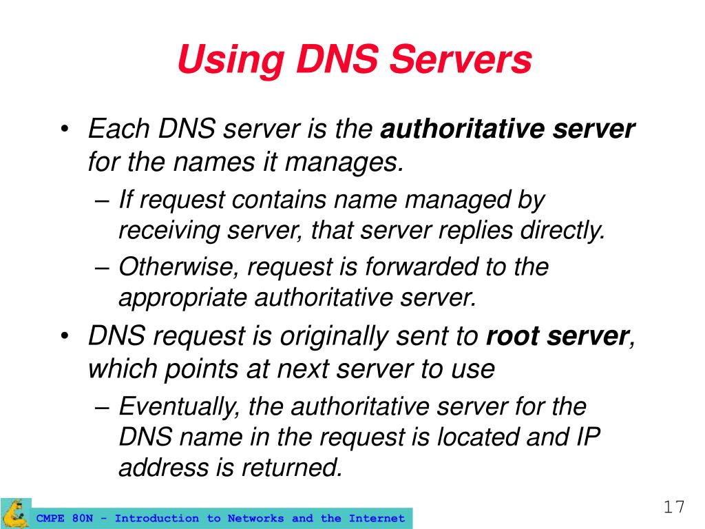 Using DNS Servers