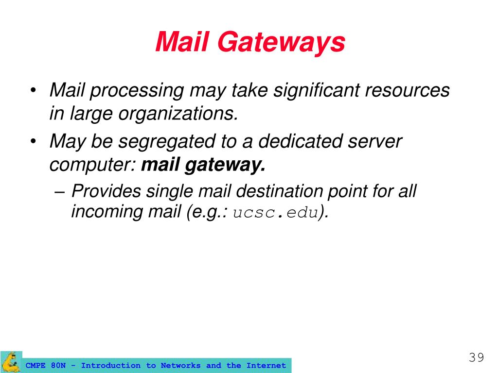 Mail Gateways