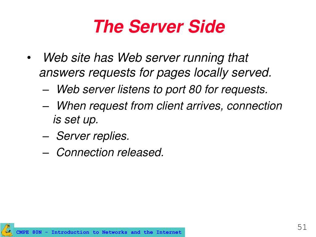 The Server Side