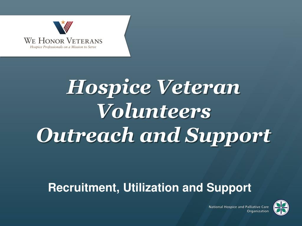 Hospice Veteran Volunteers