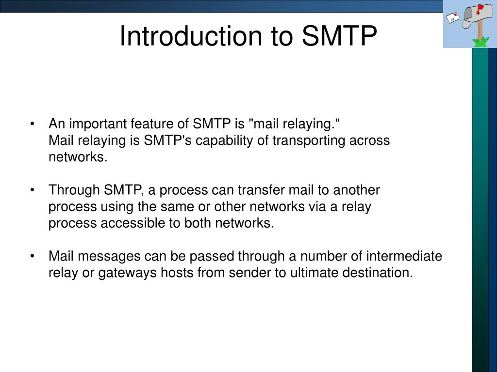 Introduction to SMTP