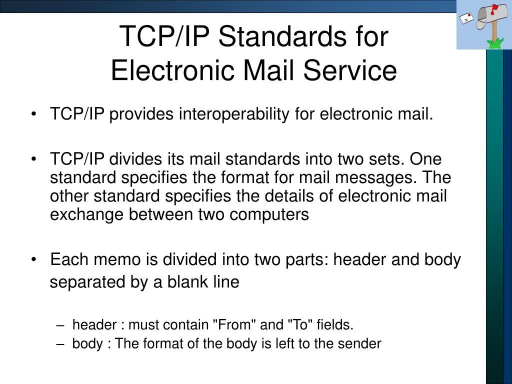 TCP/IP Standards for
