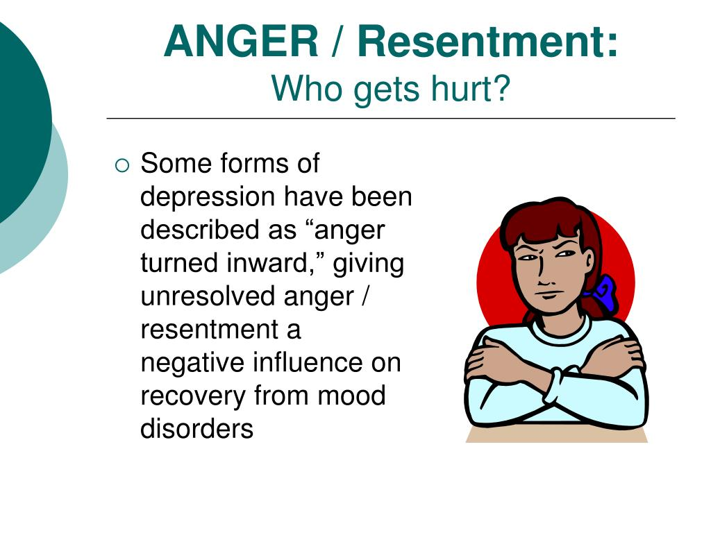 ANGER / Resentment: