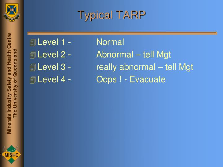 Typical TARP