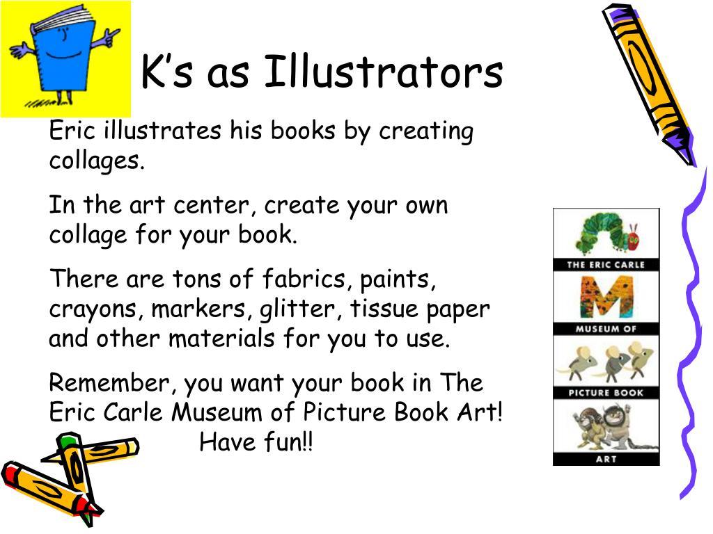 K's as Illustrators