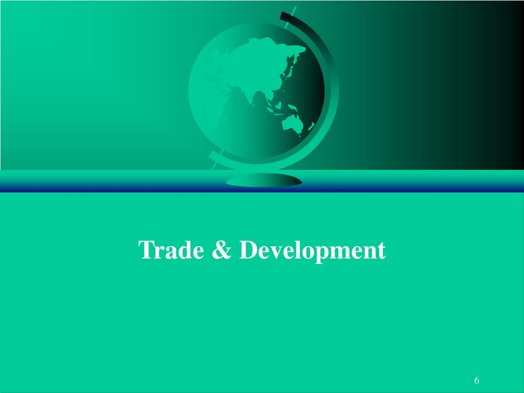Trade & Development