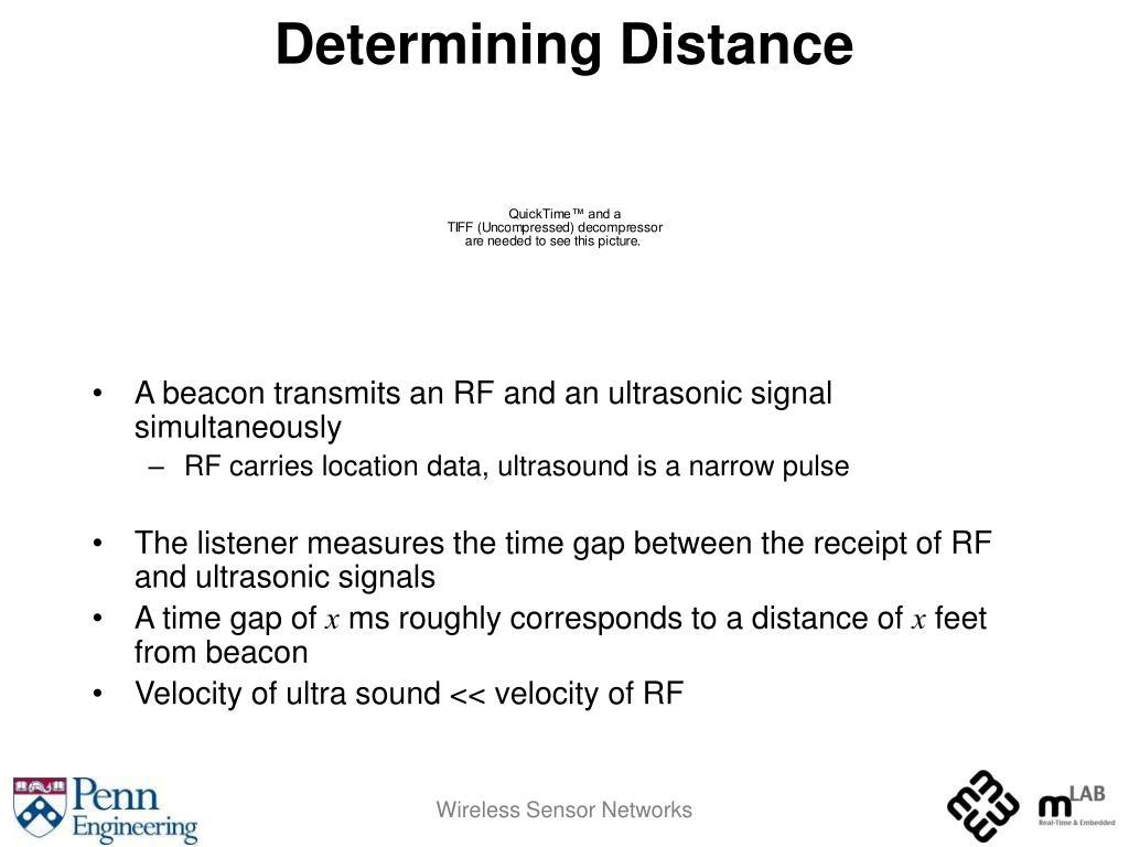 Determining Distance