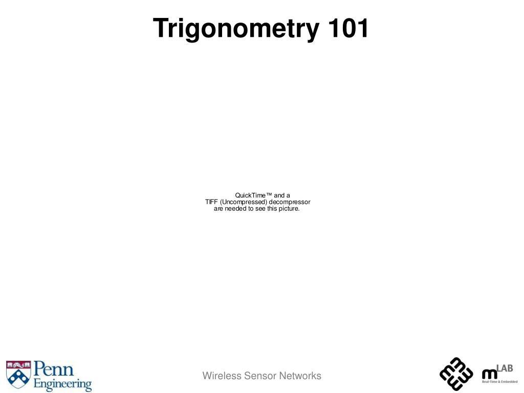 Trigonometry 101