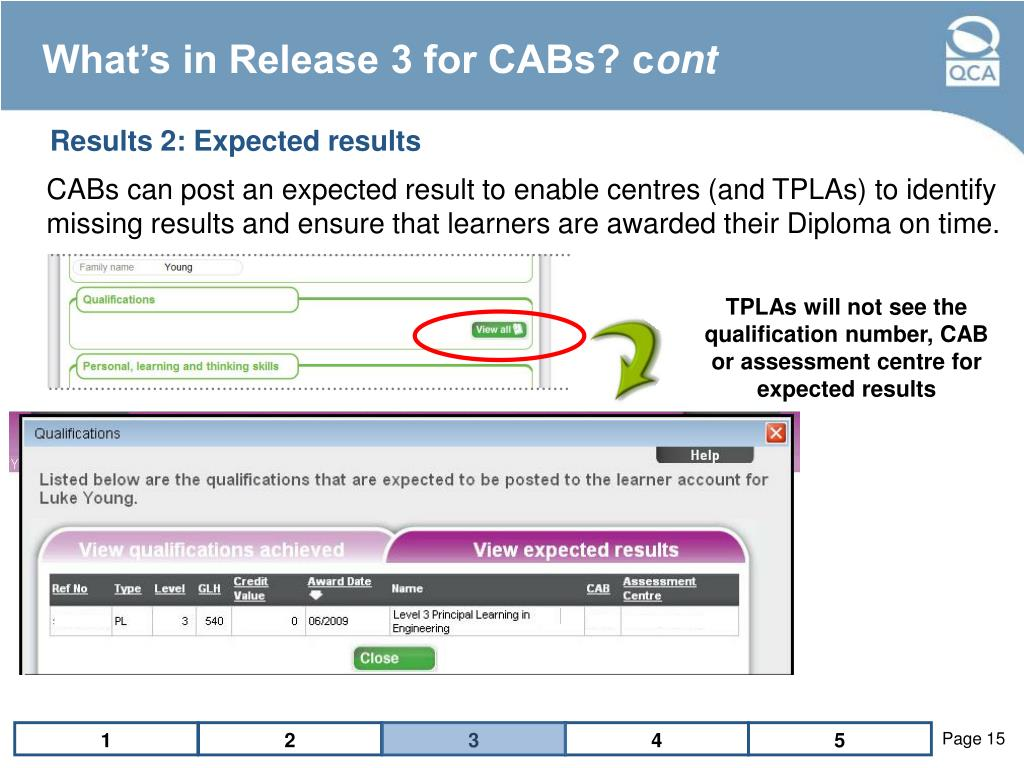 What's in Release 3 for CABs? c