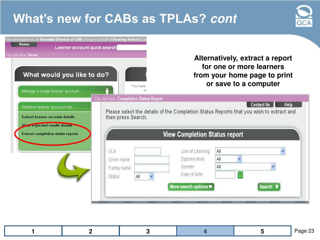 What's new for CABs as TPLAs?