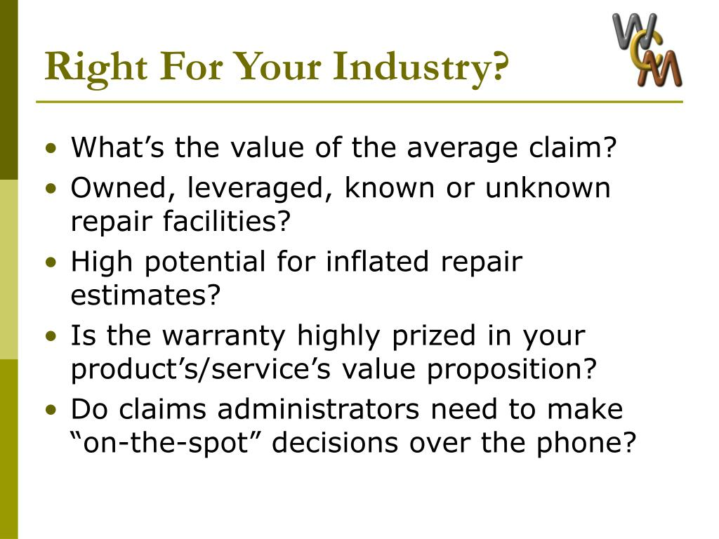 Right For Your Industry?