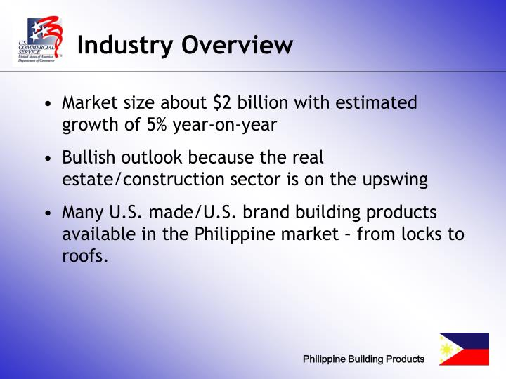 Industry overview l.jpg