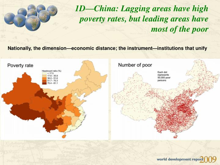 1D—China: Lagging areas have high poverty rates, but leading areas have most of the poor