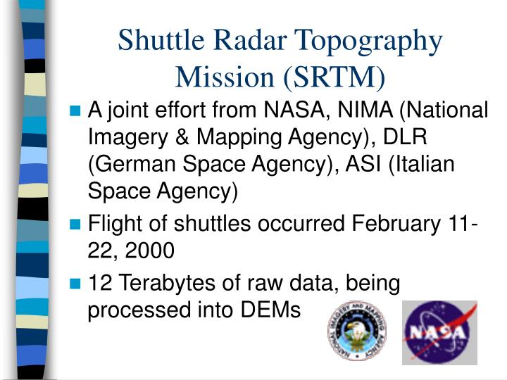 Shuttle Radar Topography Mission (SRTM)