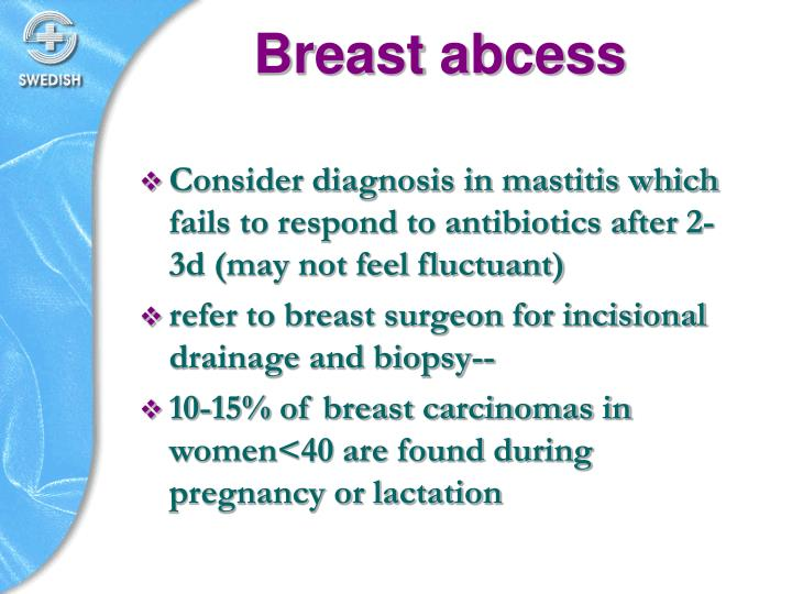 Breast abcess