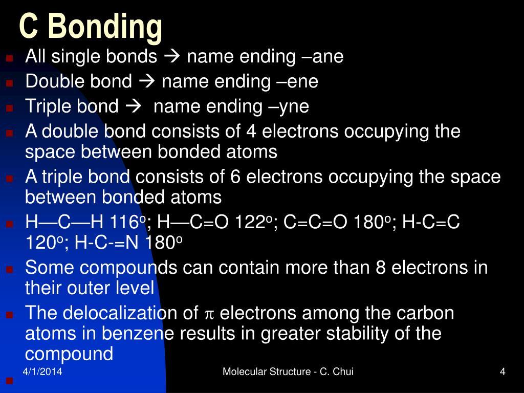 C Bonding