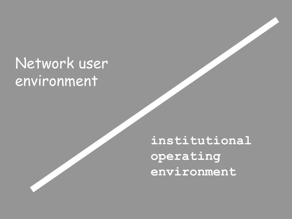 Network user