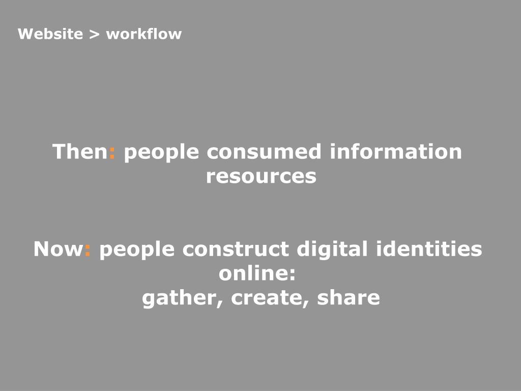 Website > workflow