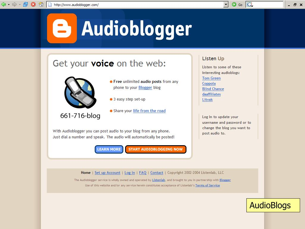 AudioBlogs