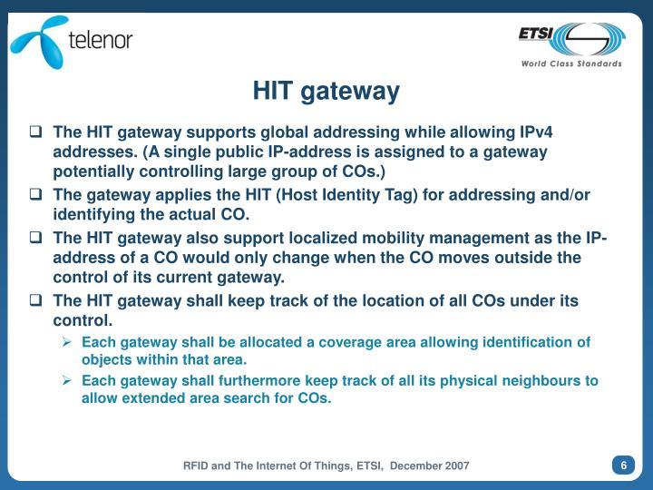 HIT gateway