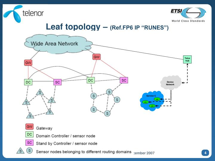 Leaf topology –