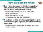 how data can be linked