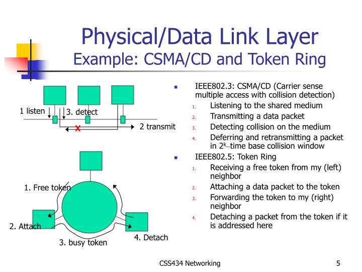 Physical/Data Link Layer