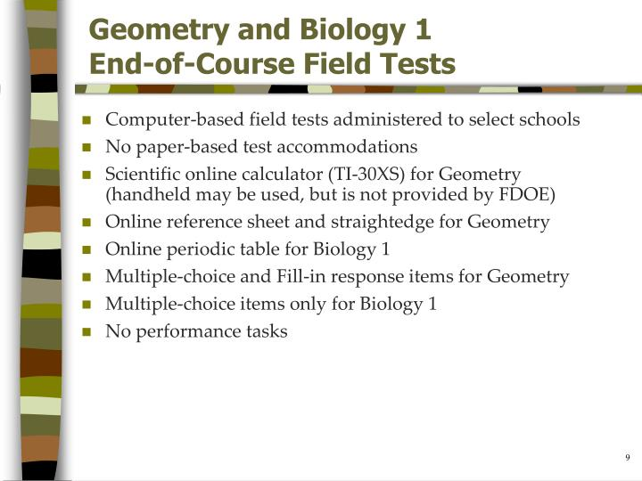 Geometry and Biology 1