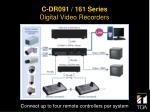 c dr091 161 series digital video recorders8