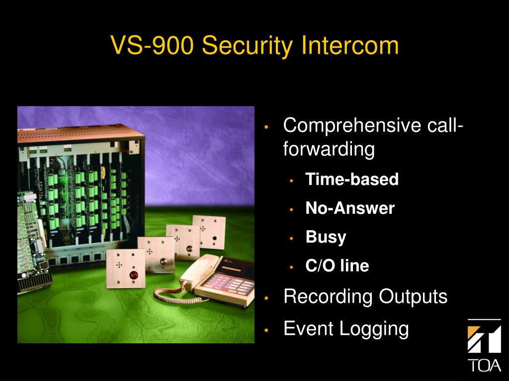 VS-900 Security Intercom
