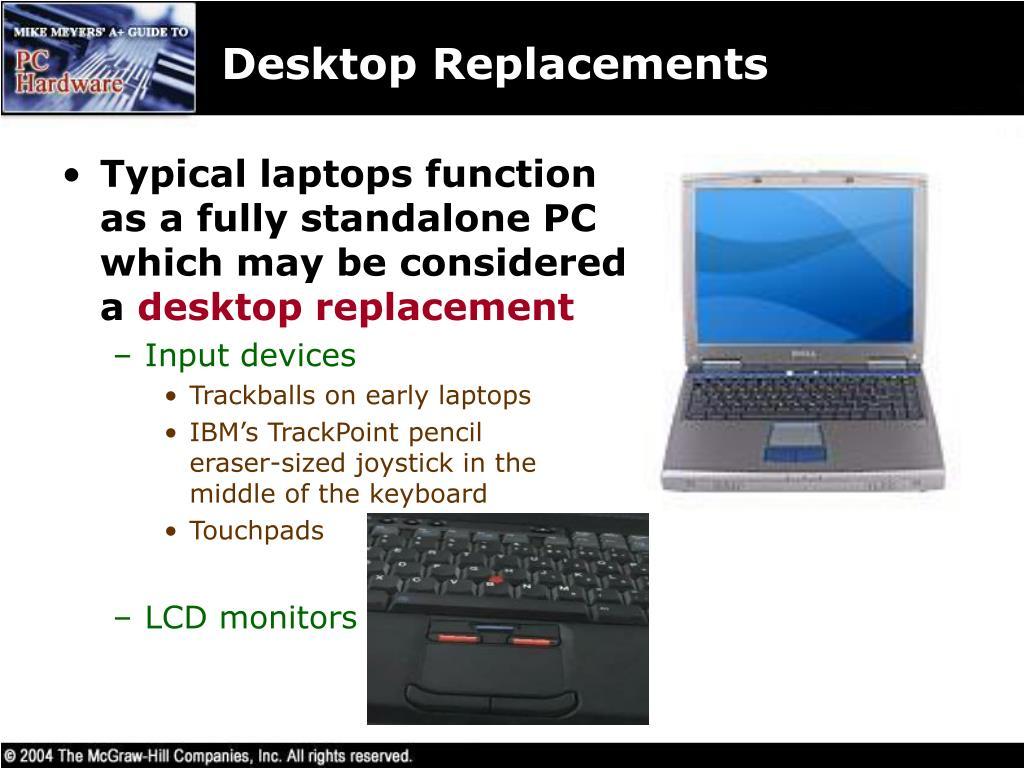 Desktop Replacements