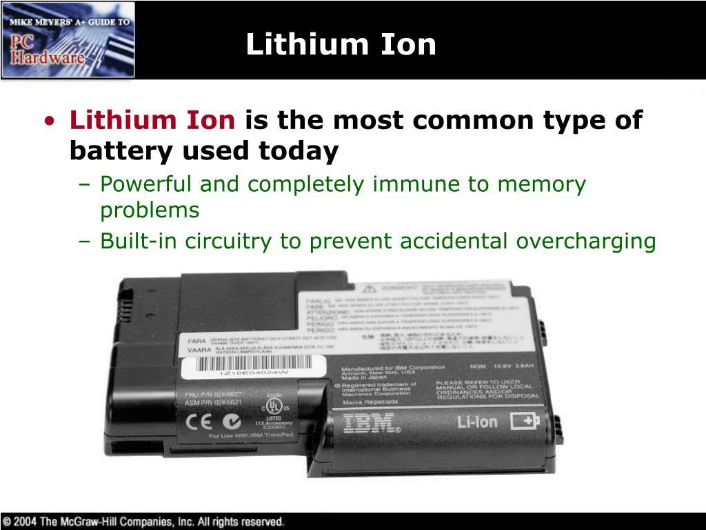 Lithium Ion