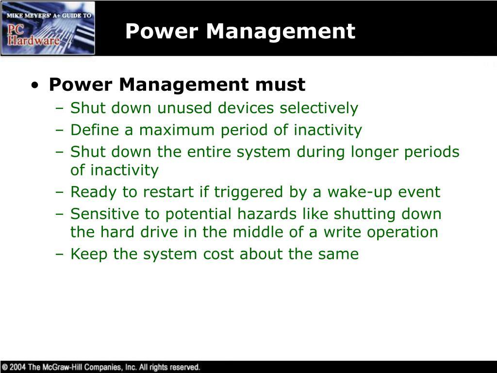 Power Management